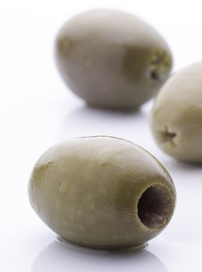 Natural Pitted Green Olive